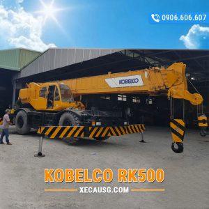 Xe cẩu bánh lốp Kobelco RK500